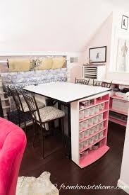 home office design tips. Turning The Work Table Makes It More Accessible | Home Office Design Ideas: 8 Tips A
