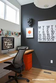graphic designers office. in trishas home office a slim butcherblock top by ikea stands for desk the crisp blackandwhite palette serves as canvas graphic designers c