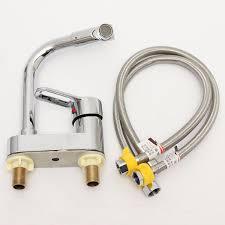 zinc alloy bathroom sink faucet kitchen cold hot faucet with hose