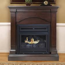 pleasant hearth dual fuel vent free wall mounted dual fuel fireplace reviews wayfair