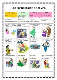 les expressions de temps français fle