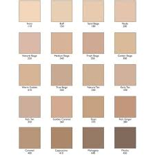Elizabeth Arden Foundation Color Chart Elizabeth Arden Foundation Color Chart