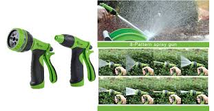 garden hose nozzle spray nozzle set for watering plants cleaning 5 59 14 shipped