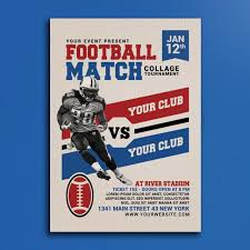 american template american football match poster template for free download on pngtree