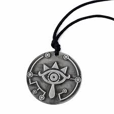 details about the legend of zelda cosplay sheikah slate breath of the wild necklace pendant