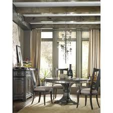 mediterranean dining room furniture. hooker furniture dining room vintage west 54in round table w20in leaf mediterranean