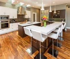 Wenge Wood Kitchen Cabinets Mixture Of White Paint And Wenge Ovation Cabinetry
