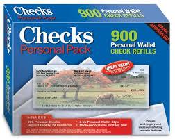 Amazon Com Checks Personal Pack
