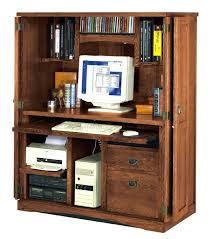 baumhaus mobel solid oak hidden home office. Hidden Office Desk Furniture Oak Computer Compartment . Baumhaus Mobel Solid Home