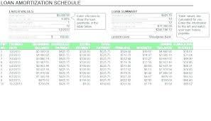 Amortization Loan Table Amortization Chart Car Loan Term Formula Naveshop Co
