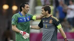 بوفون يوجه رسالة للحارس الإسباني كاسياس بعد اعتزاله كرة القدم - واتس كورة