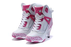 jordan shoes for girls pink and white. women air jordan high heels - 3.5 retro boots white pink shoes for girls and r