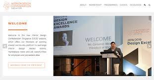 Interior Design Confederation Singapore Idcs