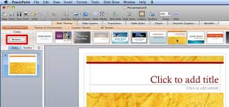 Applying Themes In Word Excel And Powerpoint 2008 For Mac