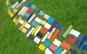 15 Garden Mosaic Projects  Pebble Mosaic Garden Paths And MosaicsMosaic Garden Path