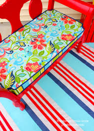 painted outdoor canvas floor cloth