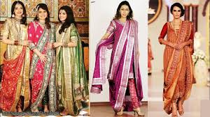 Pakistani Designer Khada Dupatta 84 Exclusive Khada Dupatta Designs
