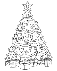 Normally an evergreen coniferous tree that is brought into a home or used in the open, a christmas tree is decorated with. Coloring Pages Christmas Ornaments Top 13 Dandy Christmas Coloring Pages Clip Art For Pr Christmas Tree Coloring Page Christmas Tree Drawing Tree Coloring Page