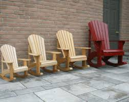 Adirondack Chair Plans DWG files for CNC machines