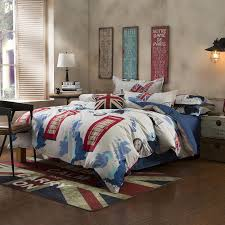 find more bedding sets information about new british style bed cover sets uk usa flag queen