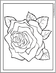 100% free valentines day coloring pages. 73 Rose Coloring Pages Customize Pdf Printables