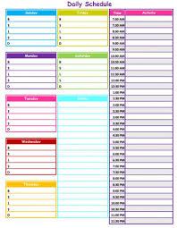 Toddler Schedule Chart Judicious Printable Schedule Chart Kc Royals Schedule Printable
