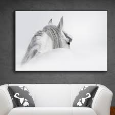 Large Prints Cheap Online Get Cheap 3 Horse Pictures Print White Aliexpresscom