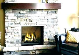 faux stone fireplace home depot stacked stone veneer living room traditional