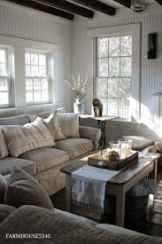Neutral Colors Living Room After Christmas Decorating Idea Winter Living Room With Linens