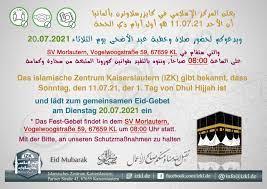 Islamisches Zentrum Kaiserslautern Eid