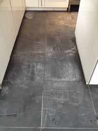 Slate For Kitchen Floor Slate Tiled Kitchen Floor Cleaned And Re Sealed In Huston