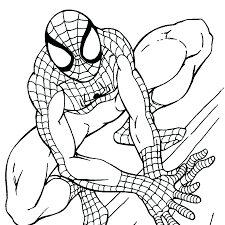Coloring Books Coloring Books Spiderman Sheet