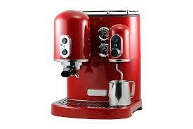 kitchenaid espresso machine artisan red review