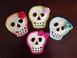 Skull Crochet Pattern Awesome Day Of The Dead Skull Pattern By Kristin Canganelli Crochet