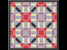 Geometric Quilt Pattern Video Tutorial - YouTube | Блоки. Копилка ... & Geometric Quilt Pattern Video Tutorial - YouTube Adamdwight.com