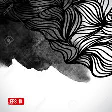theme urban abstract vector black and white design with waves urban theme