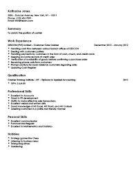 Retail Resume Description Example Of Cashier Resume Customer Care Cashier Resume Retail