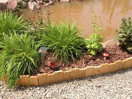 wood garden edging ideas