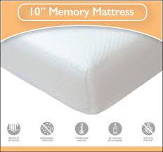 mattress 4ft. memory flex 10 inch 4ft small double foam mattress 4ft