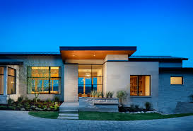 simple modern home design. Ideas Breathtaking Simple Modern Home With Floor Style Single From  Exterior, Simple Modern Home Design