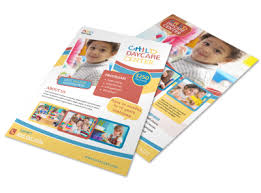 Childcare Flyers Design Childcare Flyers Brochures More Mycreativeshop