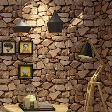 vintage wall paper waterproof wall papers home decor 3d imitation rock stone vinyl wallpaper for walls papel de parede 3d hd images wallpaper hd images