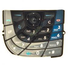 nokia keypad. keypad for nokia 7610 - blue