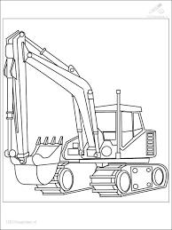 Bulldozer Mecanic Shovel 53 Transportation Printable Coloring
