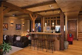 decorations home bar decoration idea with repainted counter and