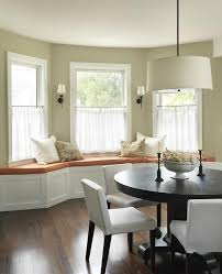 Kitchen Bay Window Seating Bay Window With Window Seat Curtain Ideas Ideas About Bay Window