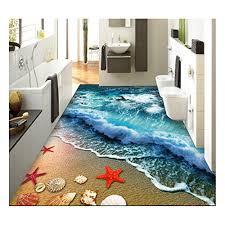 zah thin 3d ear rug non slip doormat carpet printing rug for living room bedroom