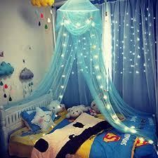 Amazon.com: amz Kids Celestial Starry Night Hideaway Girls Boys Bed ...