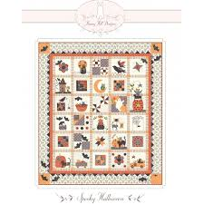 Spooky Halloween Row of The Month Quilt Pattern From Bunny Hill ... & Picture 1 of 2 ... Adamdwight.com