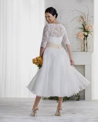Plus Size Tea Length Wedding Dress Nz